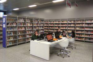 Design wypożyczalni biblioteki w Chełmie
