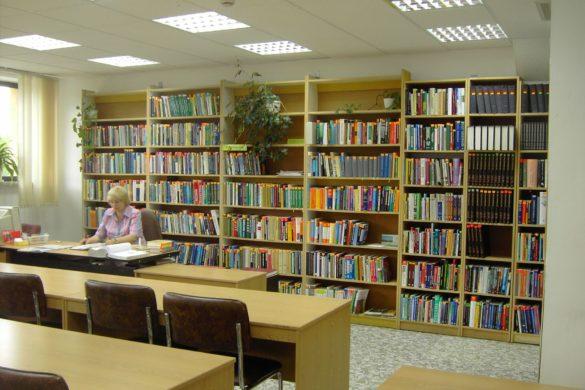 stara czytelnia - design biblioteki w Chełmie