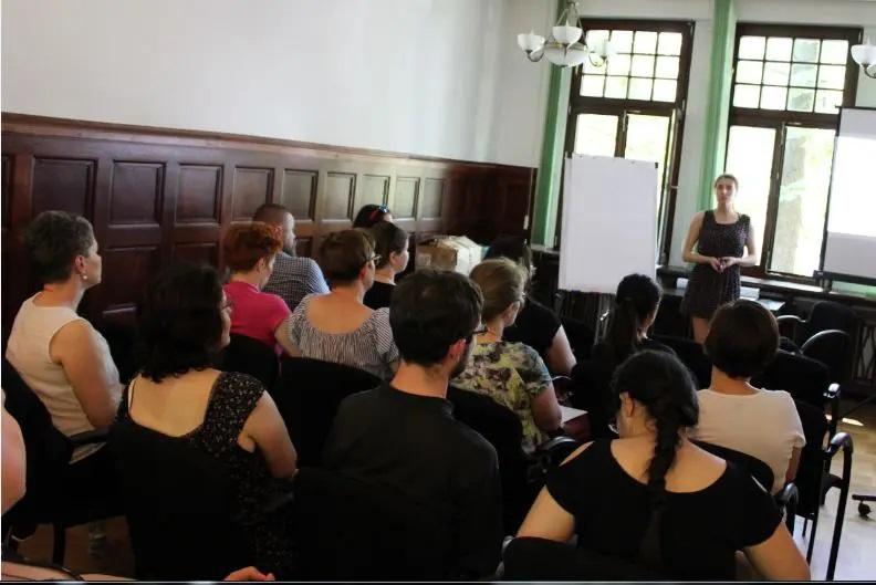 Szkolenie Bożeny Korol Ukraińcy w bibliotece
