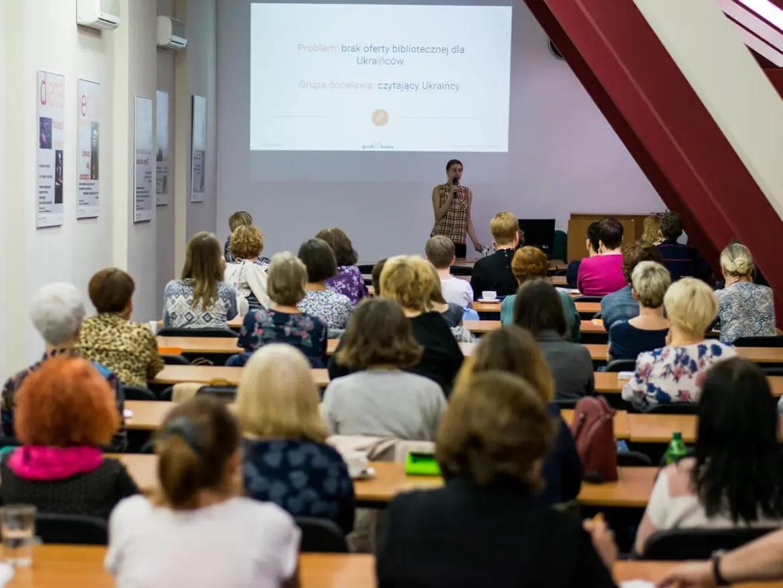 Szkolenie dla bibliotekarzy o Ukraińcach w bibliotece