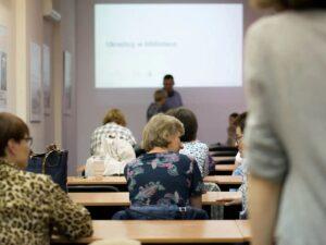 Szkolenie dla bibliotekarzy Ukraińcy w bibliotece