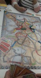 Gra planszowa - budowanie kolei