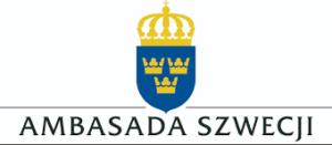Logotyp Ambasady Szwecji