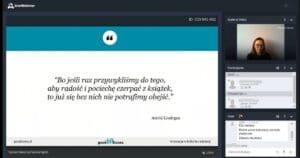 Pierwsze szkolenie dla bibliotekarzy online