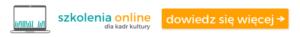szkolenia online dla kultury