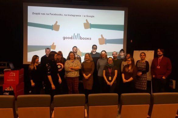 Uczestnicy szkolenia z komiksu w instytucjach kultury i szkołach