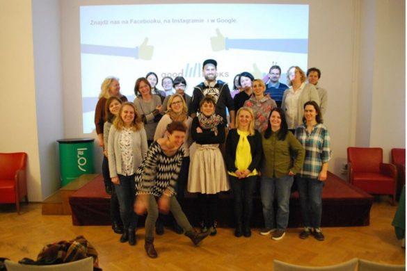 Uczestnicy szkolenia o komiksie w kulturze i szkole