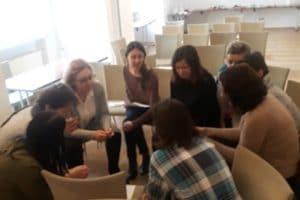 Uczestnicy szkolenia Komiks w instytucji kultury i szkole