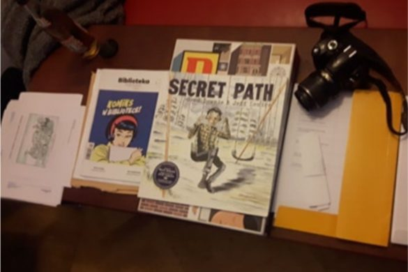 Komiks Secret path