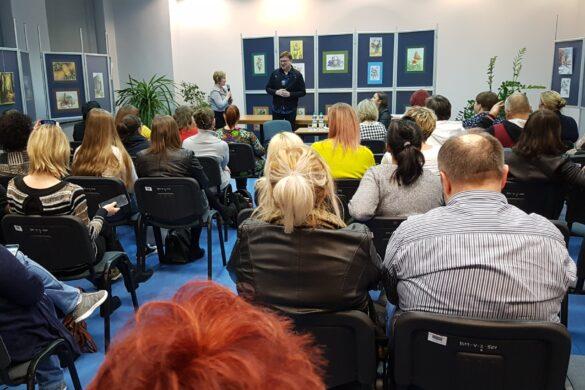 Spotkanie w bibliotece z Gliwicach