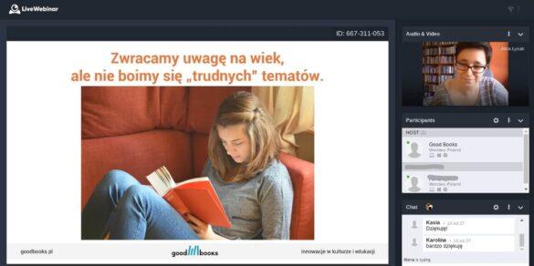 jak i jakie książki polecać młodzieży szkolenie dla bibliotekarzy online