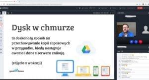 chmura google - szkolenia dla bibliotekarzy online