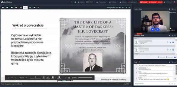 Wykład o Lovecrafcie od Marcina Białeckiego