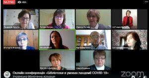 biblioteka w czasie epidemii - konferencja na Ukrainie