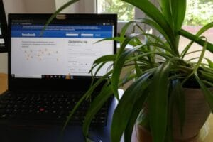 facebook w czasie epidemii www