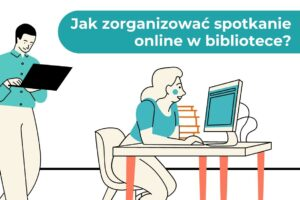 jak zorganizować spotkania autorskie online w bibliotece - szkolenie dla bibliotekarzy Good Books