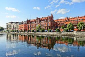 Widok na miasto Bydgoszcz
