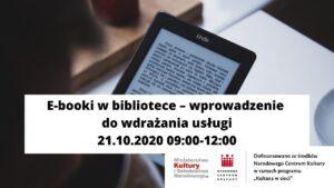E-booki w bibliotece