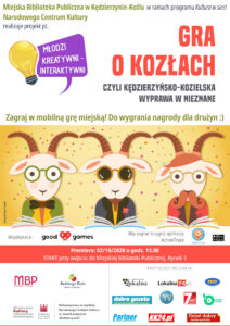 Plakat Gra o kozlach