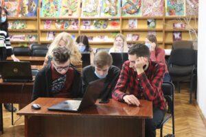 Uczestnicy szkolenia ActionTrack na Ukrainie