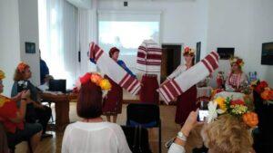 Ukraińcy w bibliotece w Wałbrzychu