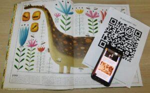 QR kod do gry W pszczelim raju