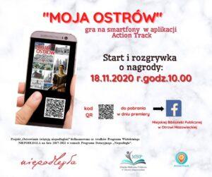 Plakat gry mobilnej Moja Ostrów