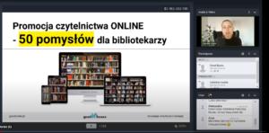 Promocja czytelnictwa online