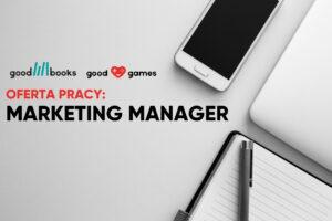 Marketing manager w Good Books
