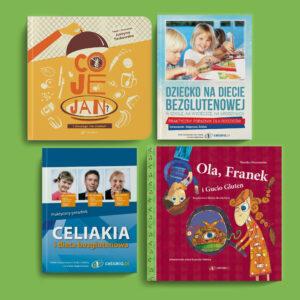 Książki z konkursu Biblioteka Bezglutenowa