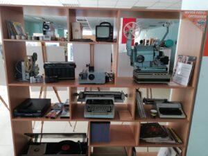 Elektronika w bibliotece w Dnieprze