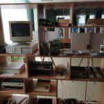 Sprzęty elektroniczne w bibliotece w Dnieprze