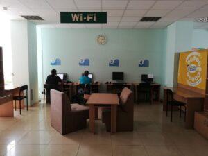 Komputery w bibliotece dnieprzańskiej