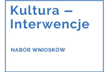 Logo Kultura - Interwencje