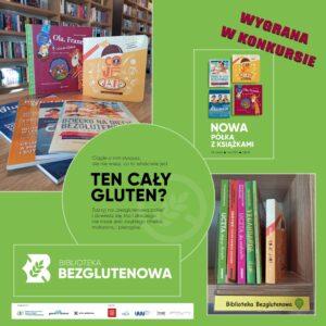 Półka bezglutenowa Miejska i Powiatowa Biblioteka Publiczna im. C. K. Norwida w Goleniowie