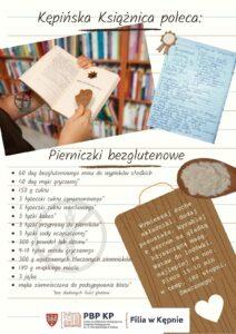 Przepis Kępińskiej Książnicy na pierniczki bezglutenowe