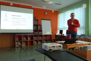 Męskie czytanie - szkolenie dla bibliotekarzy w Złotowie
