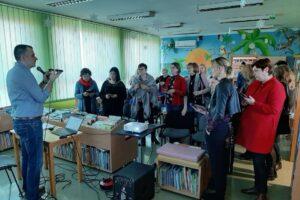 Męskie czytanie z Marcinem Skrabką - szkolenie Good Books dla bibliotekarzy