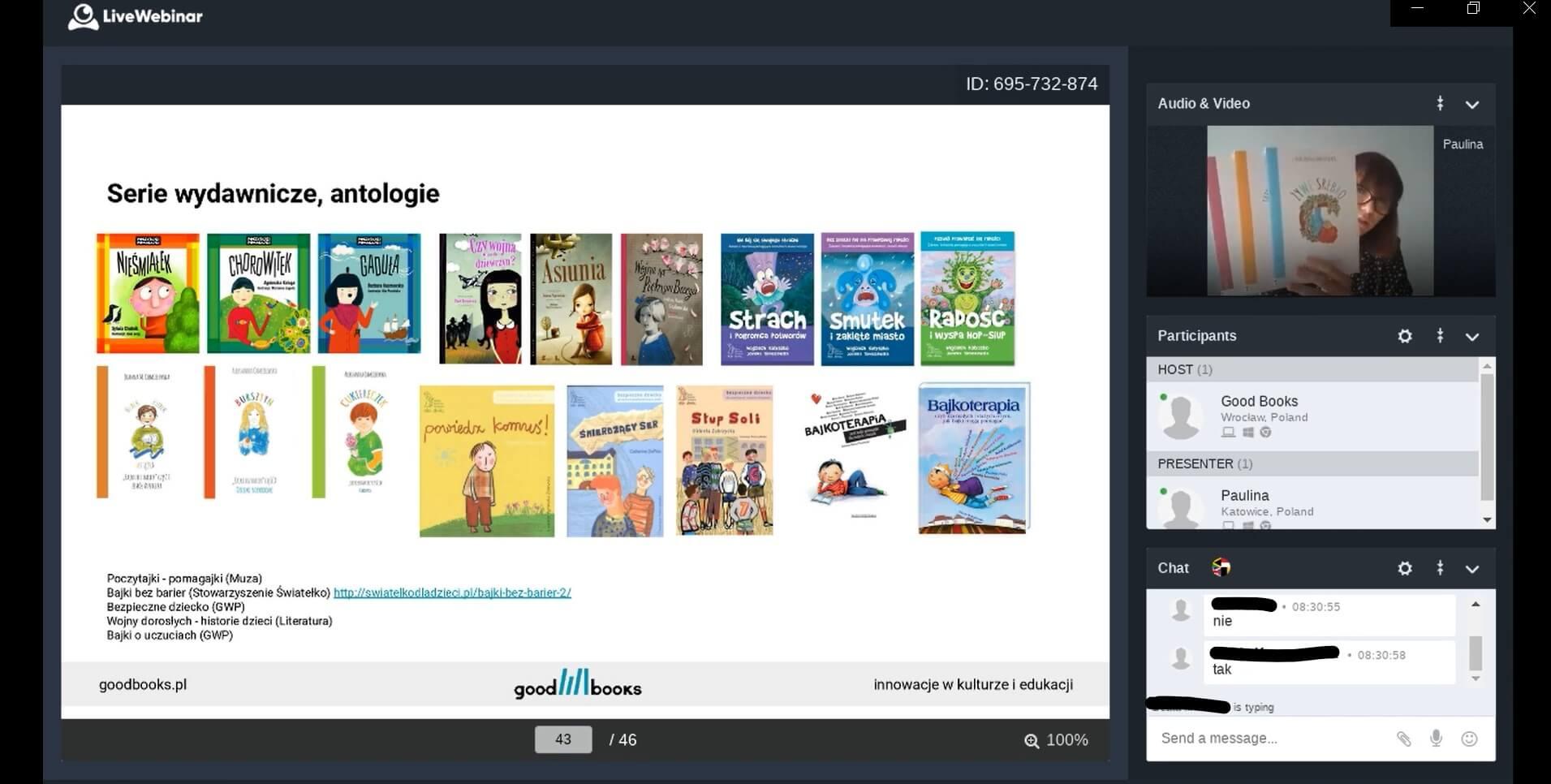 Szkolenie online dla bibliotekarzy - Good Books