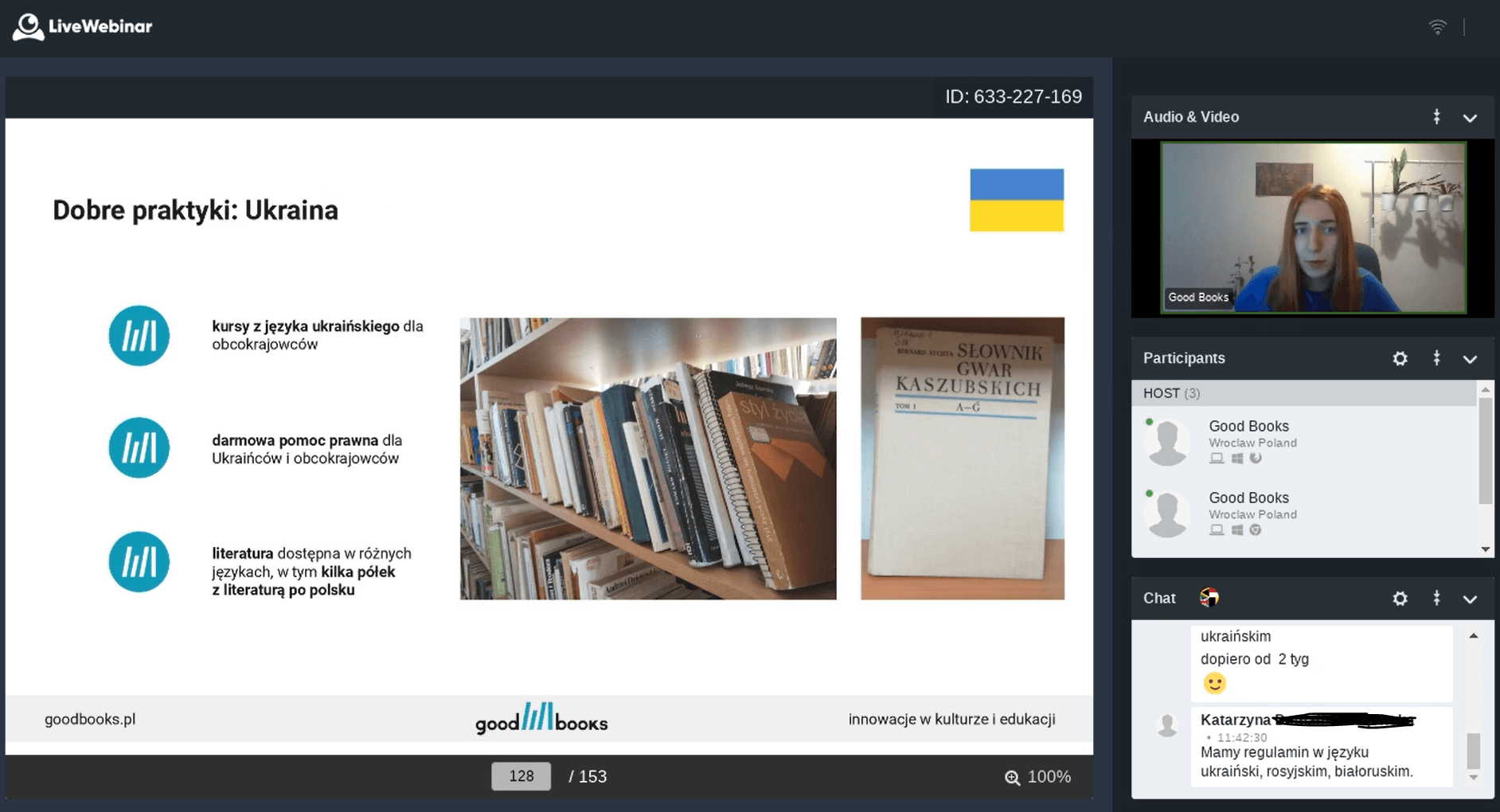 Wielokulturowa biblioteka - szkolenie dla bibliotekarzy z Bożeną Korol
