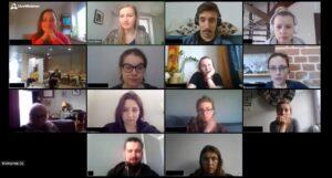Bibliotekarze z Sopotu na szkoleniu online