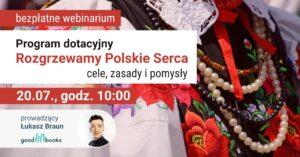 Webinarium o dotacji Rozgrzewamy Polskie Serca