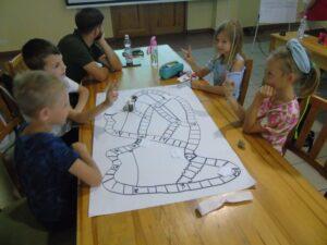 Warsztat z planszówek w Gołuchowie