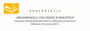 Konferencja Bibliokreacje