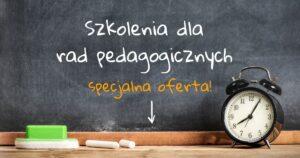 Banner Szkolenia dla rad pedagogicznych