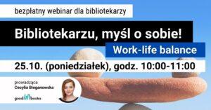 Baner: Webinarium work-life balance